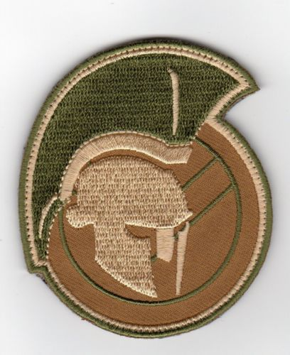Spartan multicam tactical combat badge morale velcro