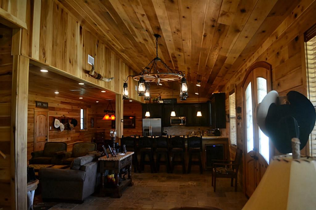 Barndominium Interior Google Search Pole Barn Home Pinterest Barndominium Barn And