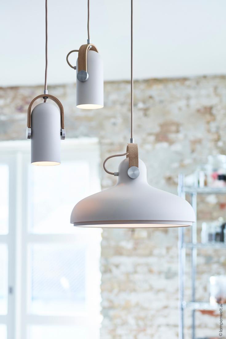 Scandi Pendellampe (weiß) für Esszimmer oder Küche ...