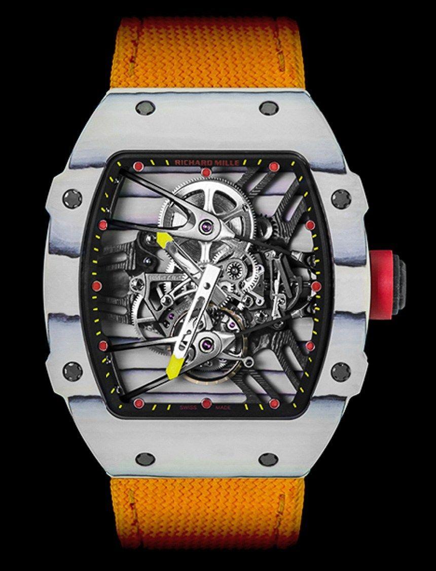 Richard Mille Rm27 02 Rafael Nadal Watch Has Novel Quartz Tpt Case For 775 000 Ablogtowatch Richard Mille Watches Luxury Watches For Men Richard Mille