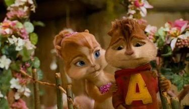 Alvin Brittany Ardillas Personajes Animados Personajes