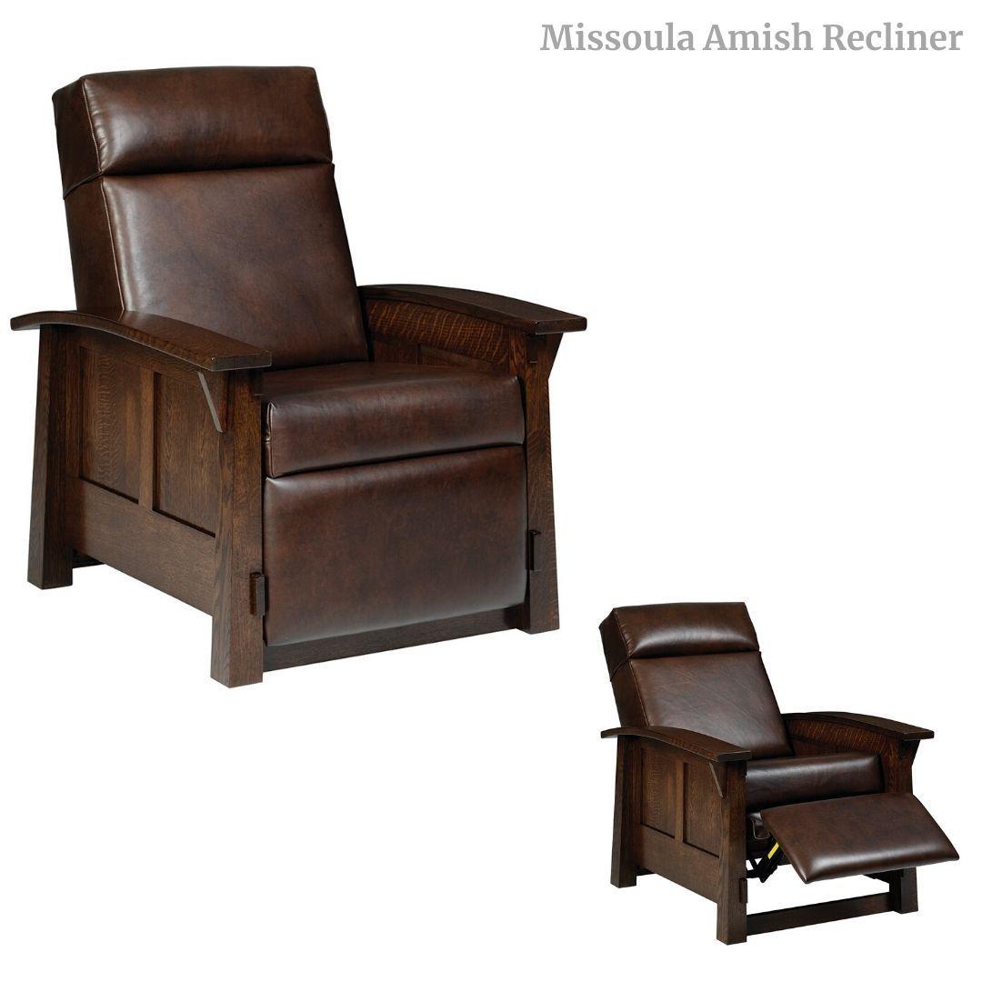 Missoula Amish Recliner Recliner Chair Diy Living Room Furniture Living Room Sets Furniture