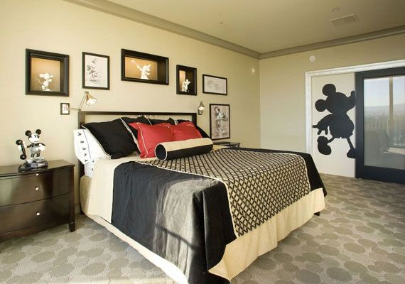 Black And White Mickey Mouse Bedroom Image 841 Mickey Mouse Bedroom Disney Home Decor