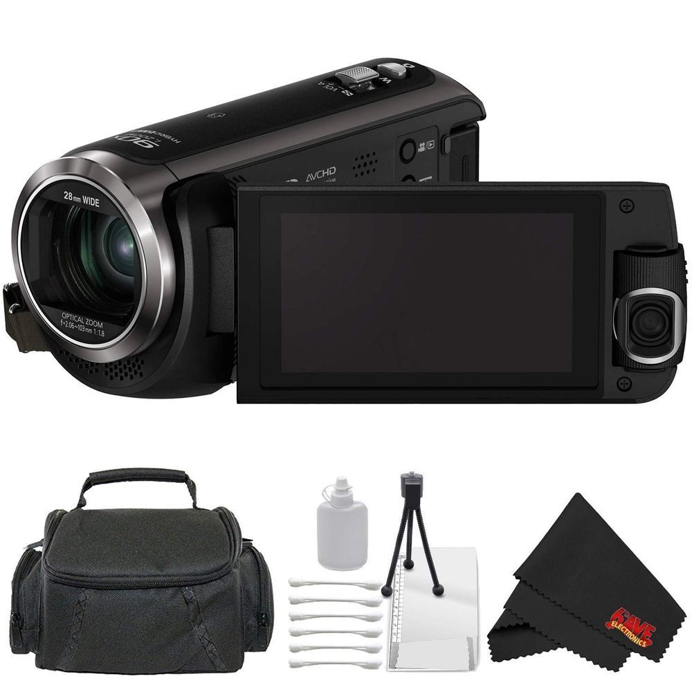 Details about panasonic hcw570 hd camcorder with builtin