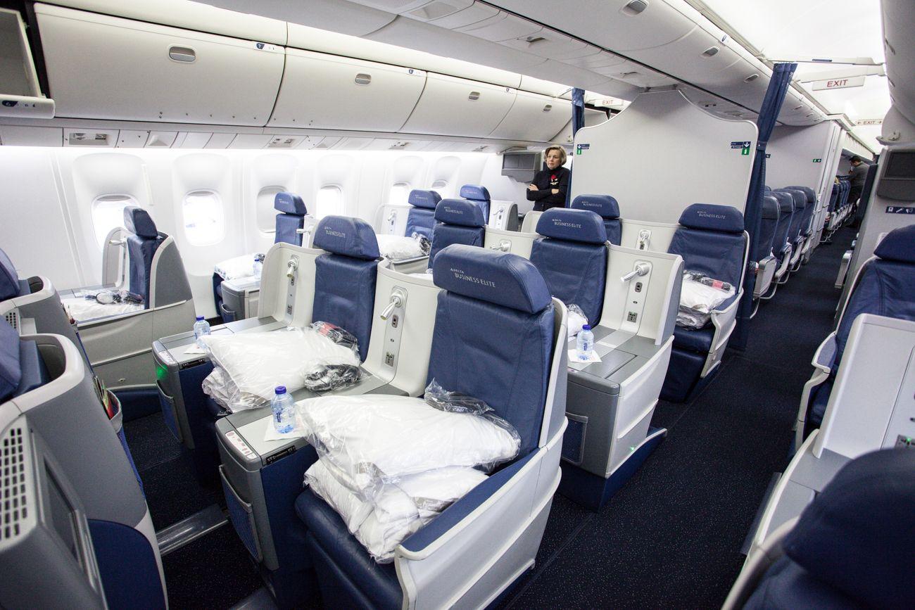 Delta Airlines Boeing 767-300ER Delta One / Business Elite ...