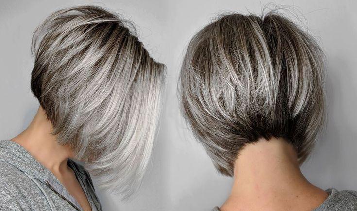Pin Von Yvonne Sopacuwa Auf Haarprodukt In 2020 Frisuren Bob Frisur Graue Haare Frisuren Bob Feines Haar