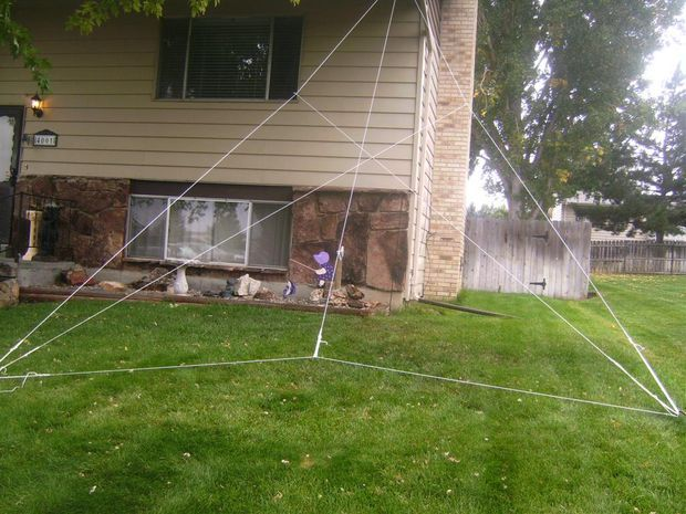 Gigantic Halloween Spider Web - spider web decoration for halloween