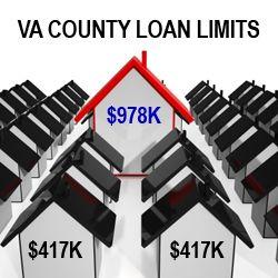 Va County Loan Limits High Cost County States Home Loans Va Loan Va Mortgage Loans