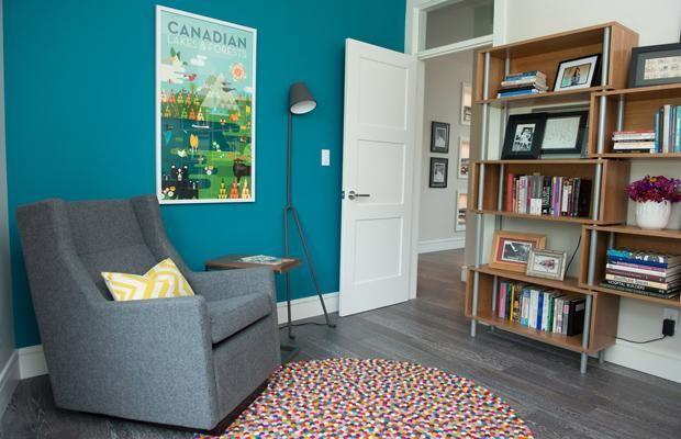 Bold Color Idea For Home Interior Wall