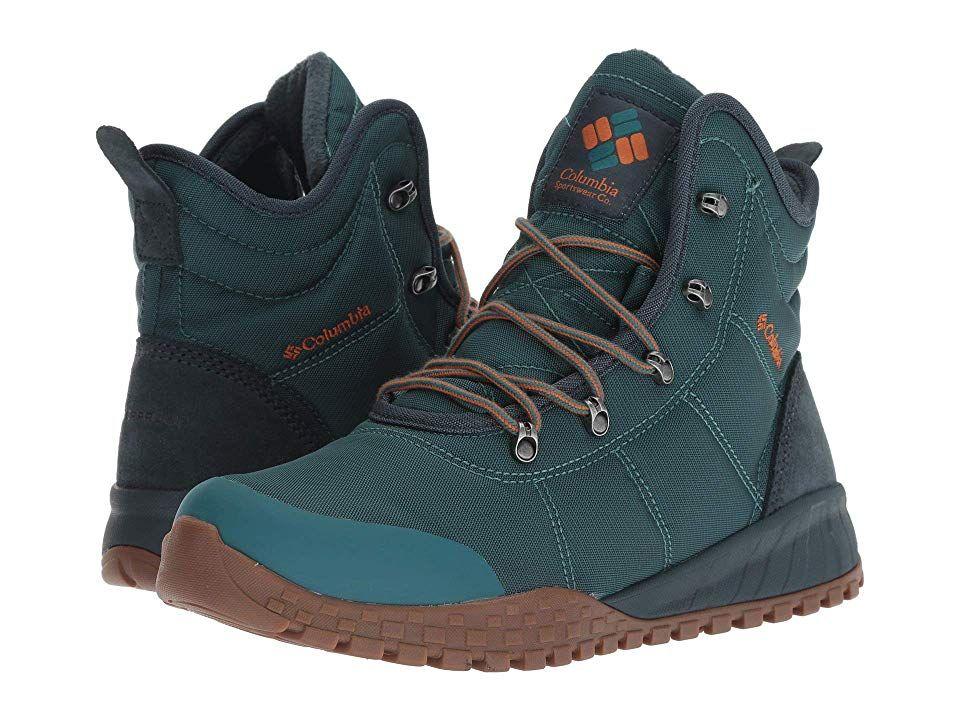 Columbia Fairbanks Omni Heat Men's Shoes Deep WaveBright
