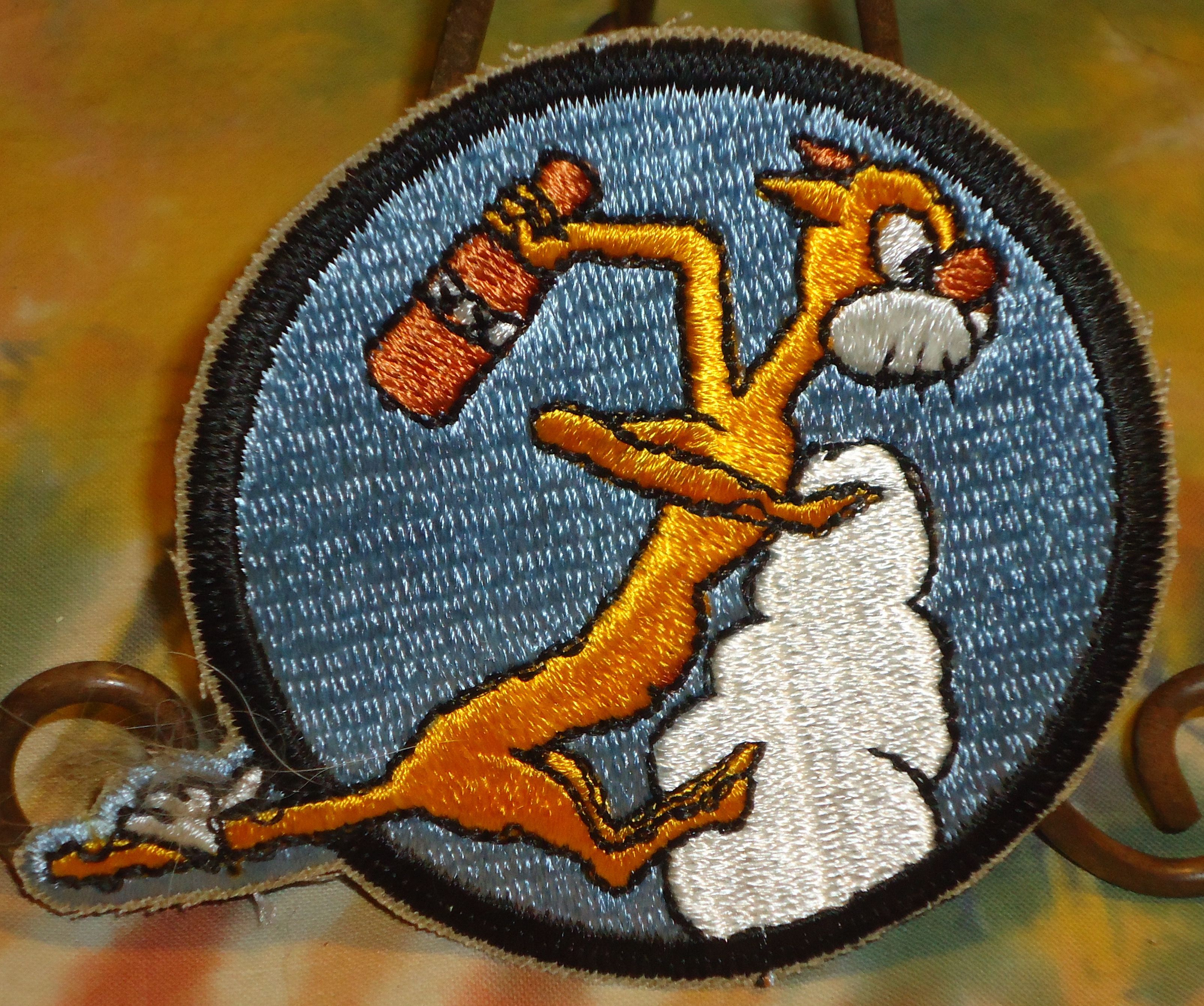 Vintage - Cat O' Nines - Reproduction - Military Patch