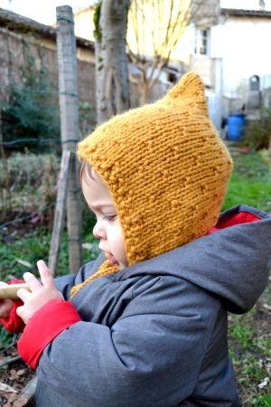 5fb755212c26 Tuto du Béguin 12 18 mois du Poc. Aig 7.   Tricot etc...   Knitting ...