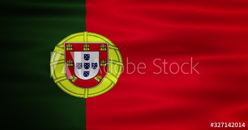 Stock Footage Of Animated Waving National Portugal Flag Animation Motion Graphics Useful For Social Media Videos Happy National Day Portugal Flag Animation