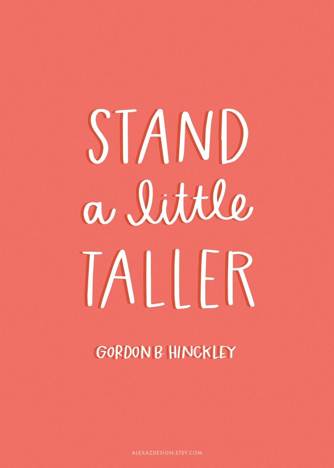 Gordon B Hinckley Quotes Printable Relief Society Handouts  Gordon Bhinckley Quotes  He