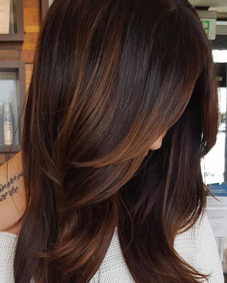 Mocha Balayage Prelightened With Scruples Hair Clay Lightener