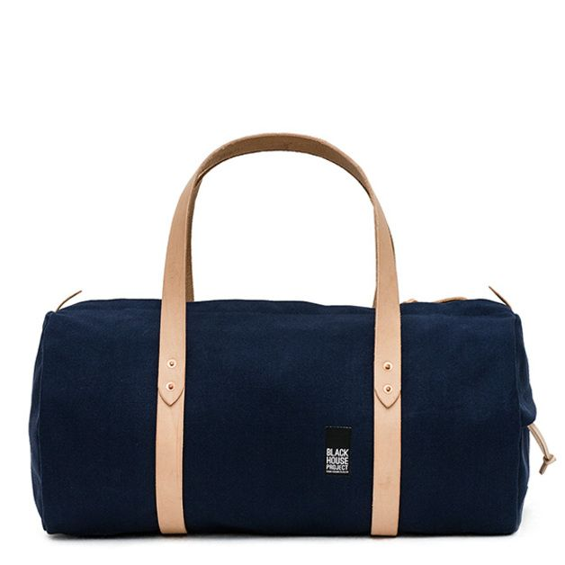 6e939474682 Yellow blouse with dark blue ribbon   Black house, Duffle bags and ...