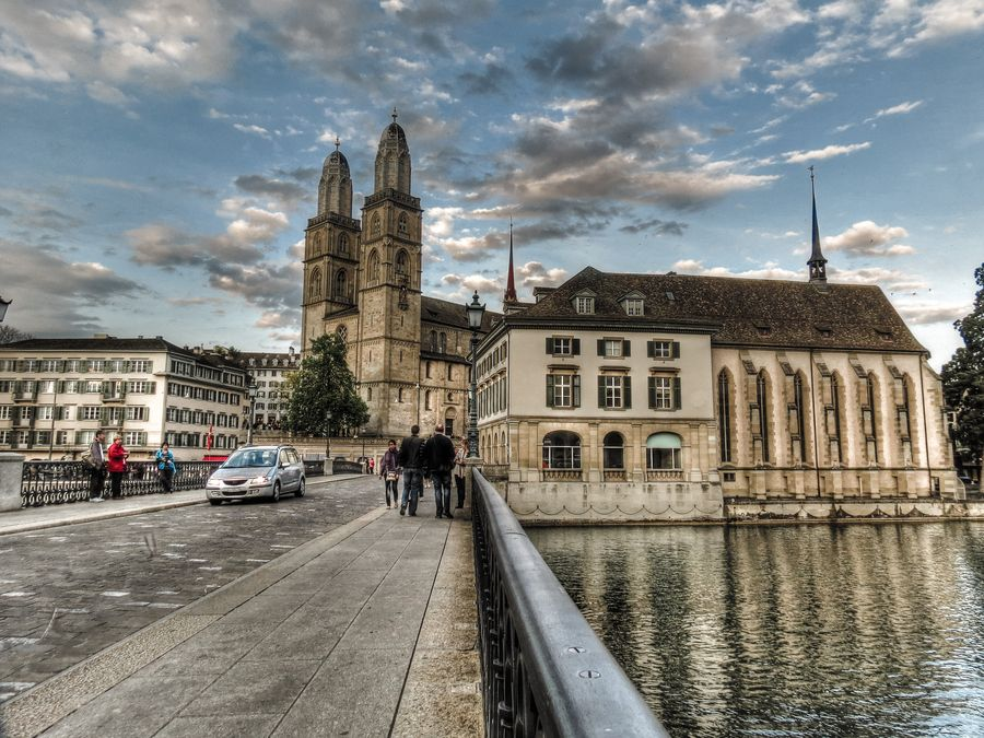 My  own  view  on Zurich by Mark Kats, via 500px