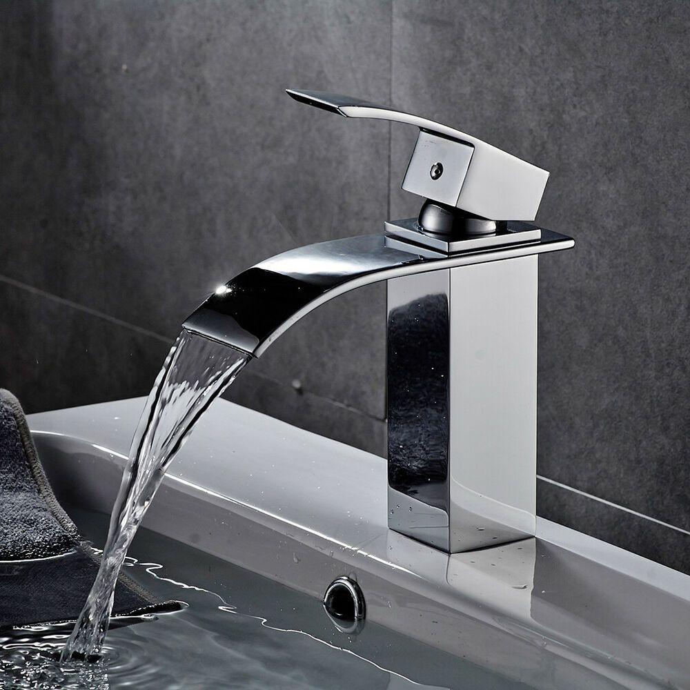 Design Wasserhahn Bad Mischbatterie Waschtisch Waschbecken Armatur