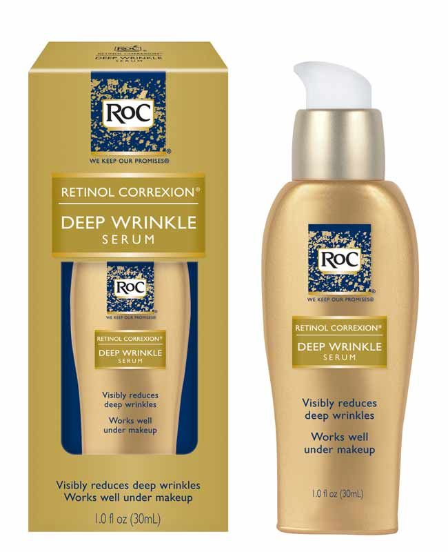 Roc Retinol Correxion Deep Wrinkle Serum Deep Wrinkles Lip Wrinkles Retinol