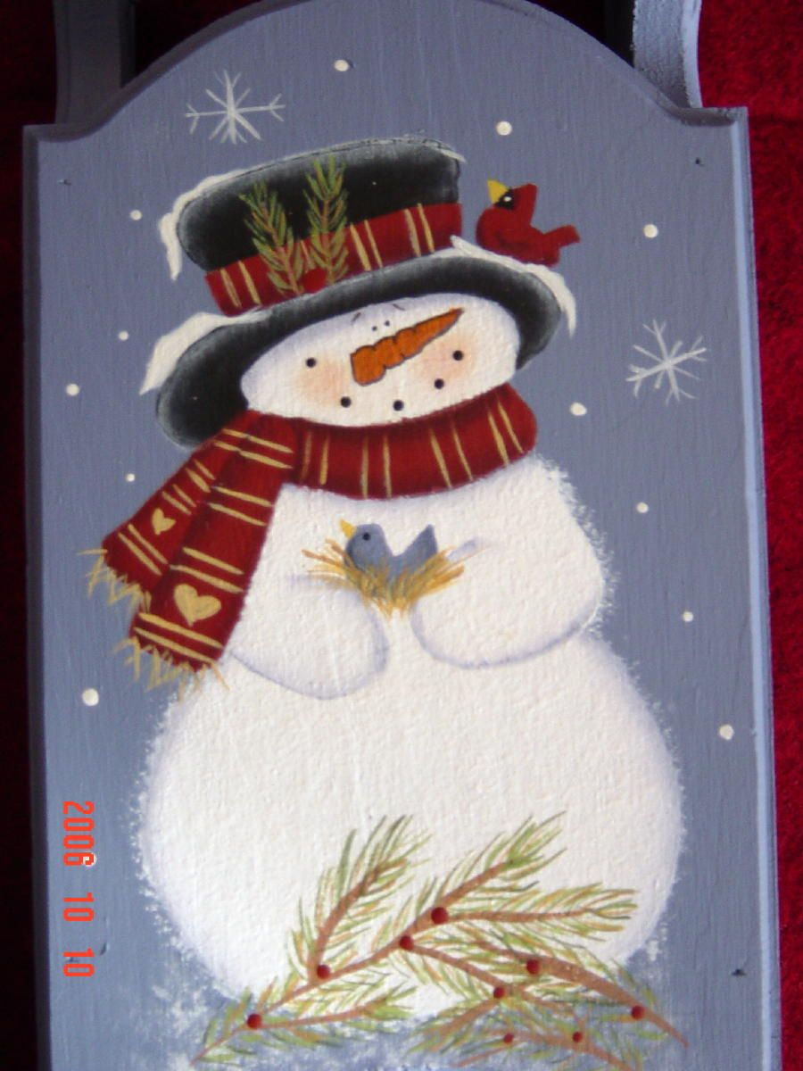 Snowmen are so cute and fun. Definitely one of my favorite