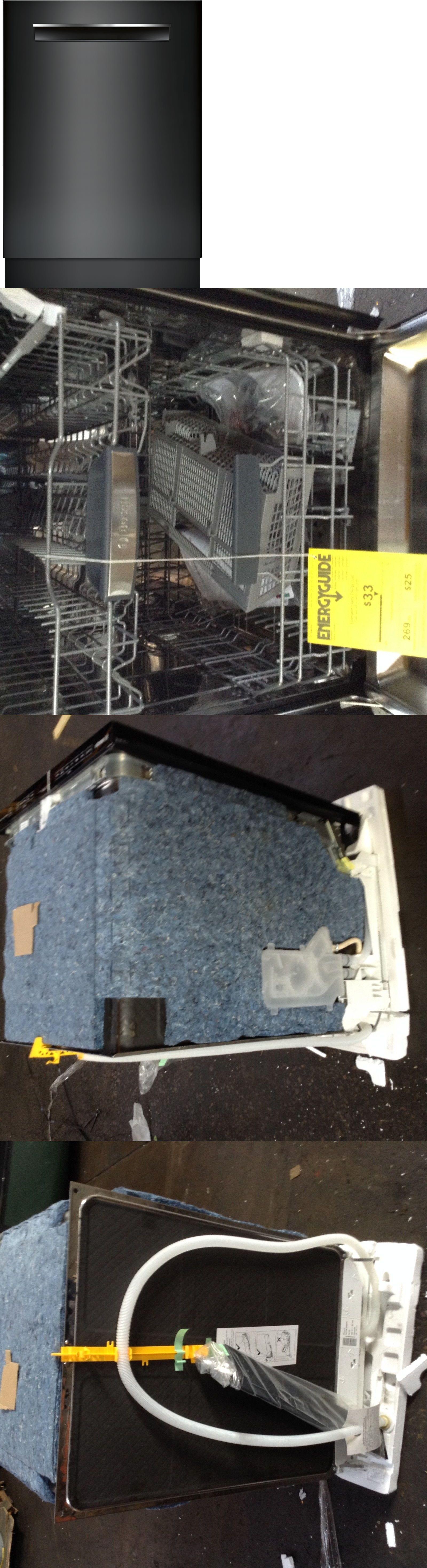 Bosch Shpm 78w56n 800 Series 24 Dishwasher Stainless Steel Tall Tub Black Black Dishwasher Bosch Tub