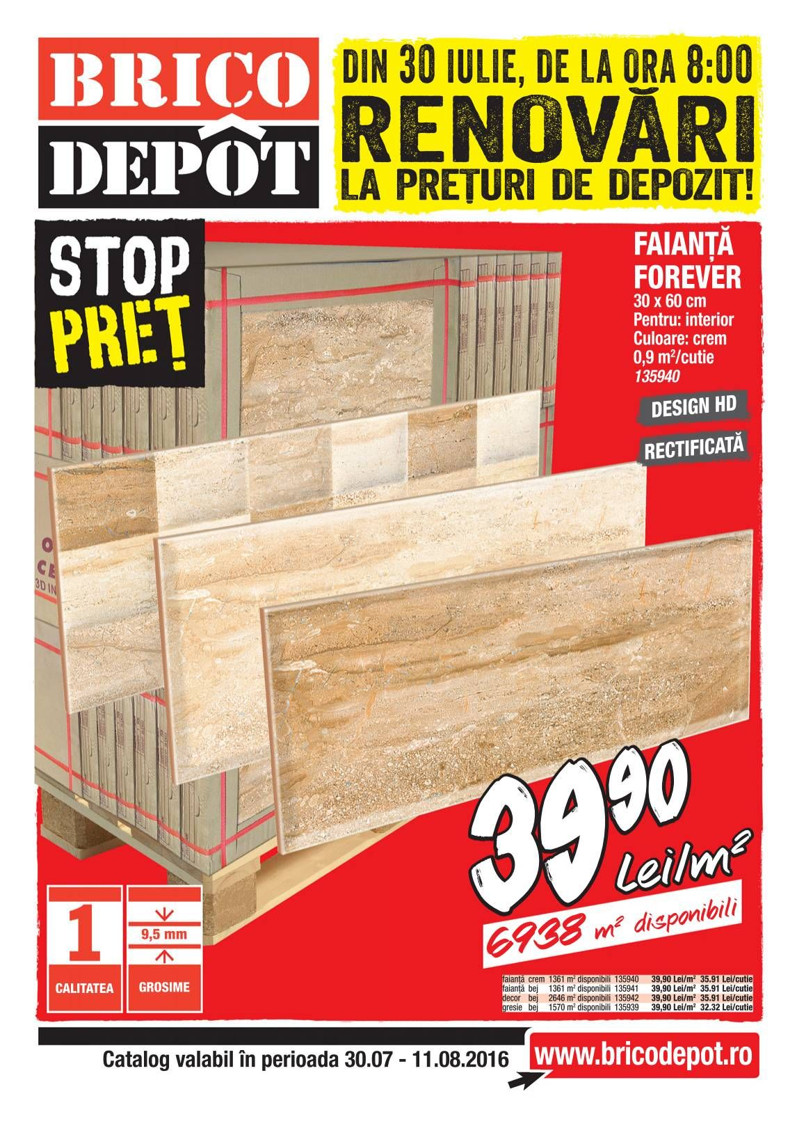 Catalog Brico Depot 30 Iulie 11 August 2016 Catalog Az Home Improvement Catalog Catalog Depot