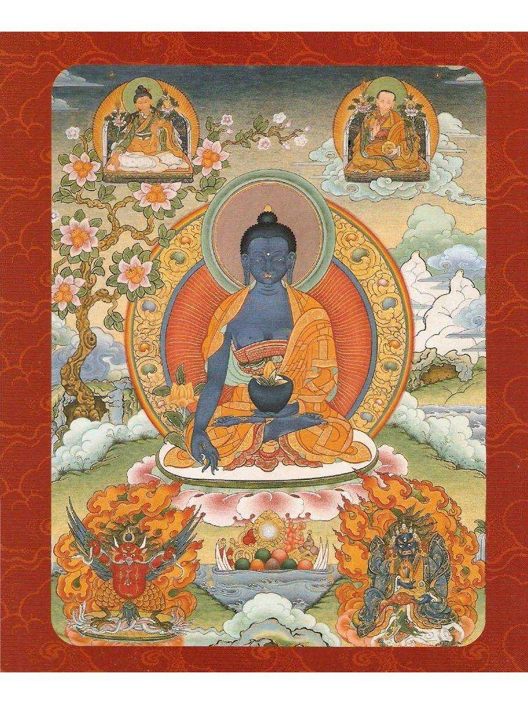 Vista Previa De Documento Prácticas De Meditación Tibetana Con Tankas Pdf Página 85 139 Buddhist Art Thangka Thangka Painting