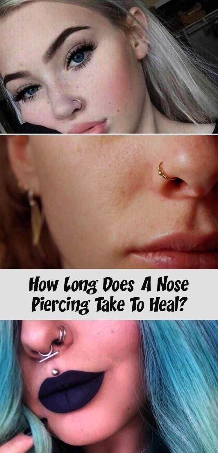 Does A Nose Piercing Take To Heal  Piercing  Every type of piercing heals at its own rate but in this article well explain everything you ne How Long Does A Nose Piercing...