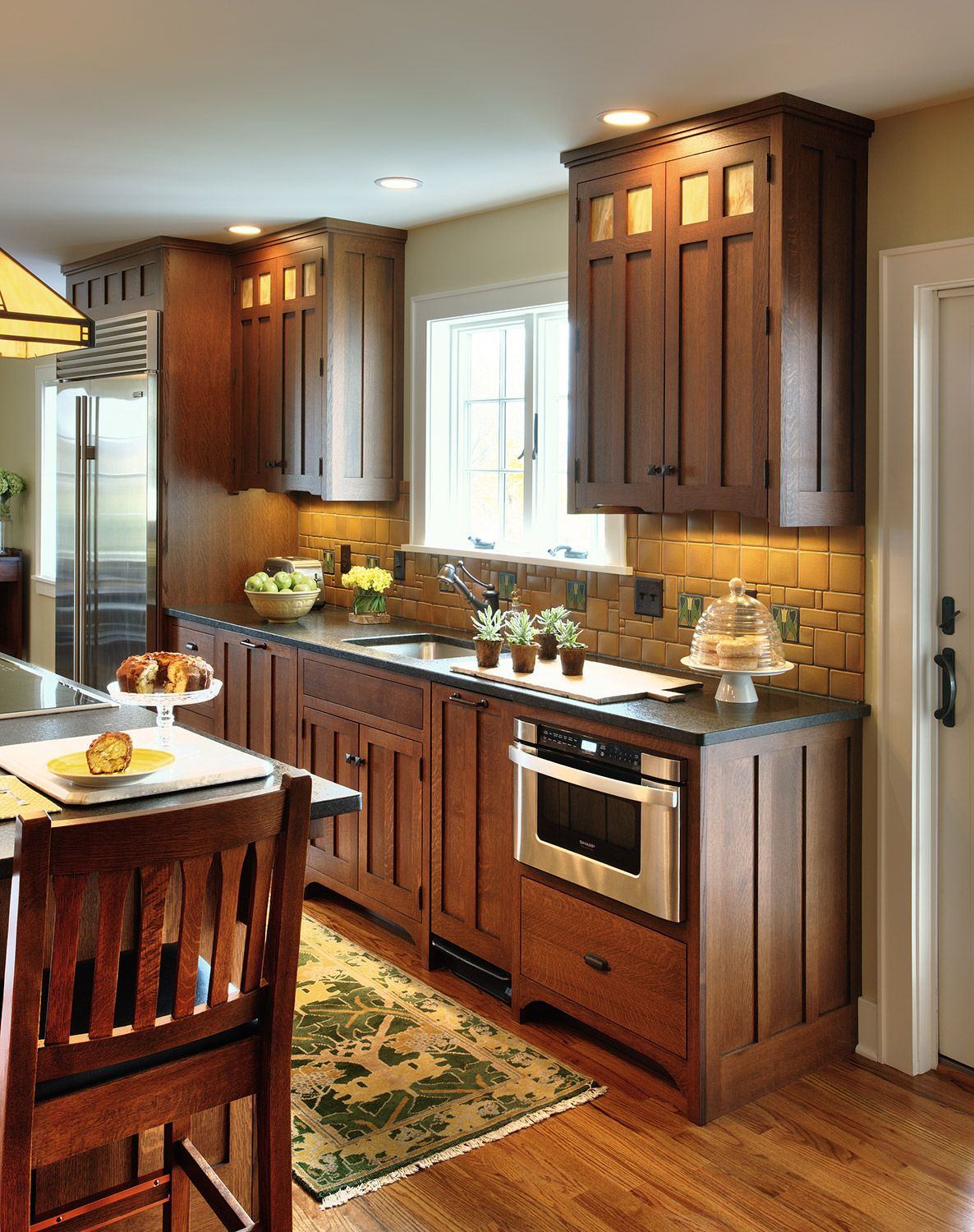 Full Kitchen redesign with custom millwork by Litchfield ...