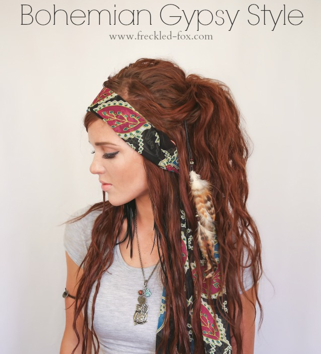 Hippie Frisur Hippie_haare | Hair Tutorials | Long Hair Styles, Hair
