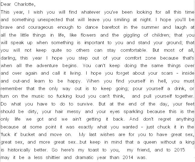 A Letter To A Friend About Life And Advice Beautiful And Touching