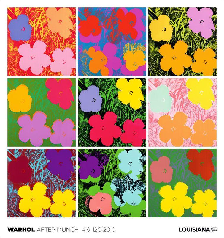 andy warhol flowers poster - Google Search   el mundo de andy ...