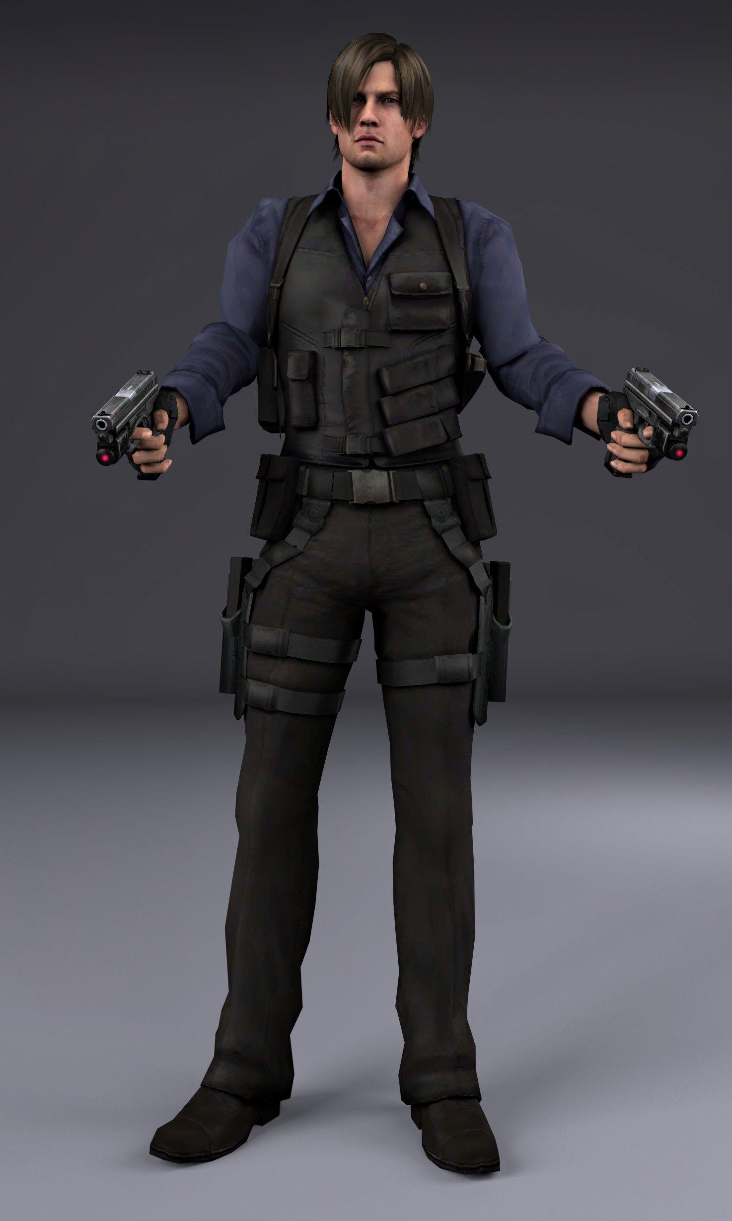 Resident Evil 6 Leon Render Google Search Leon S Kennedy