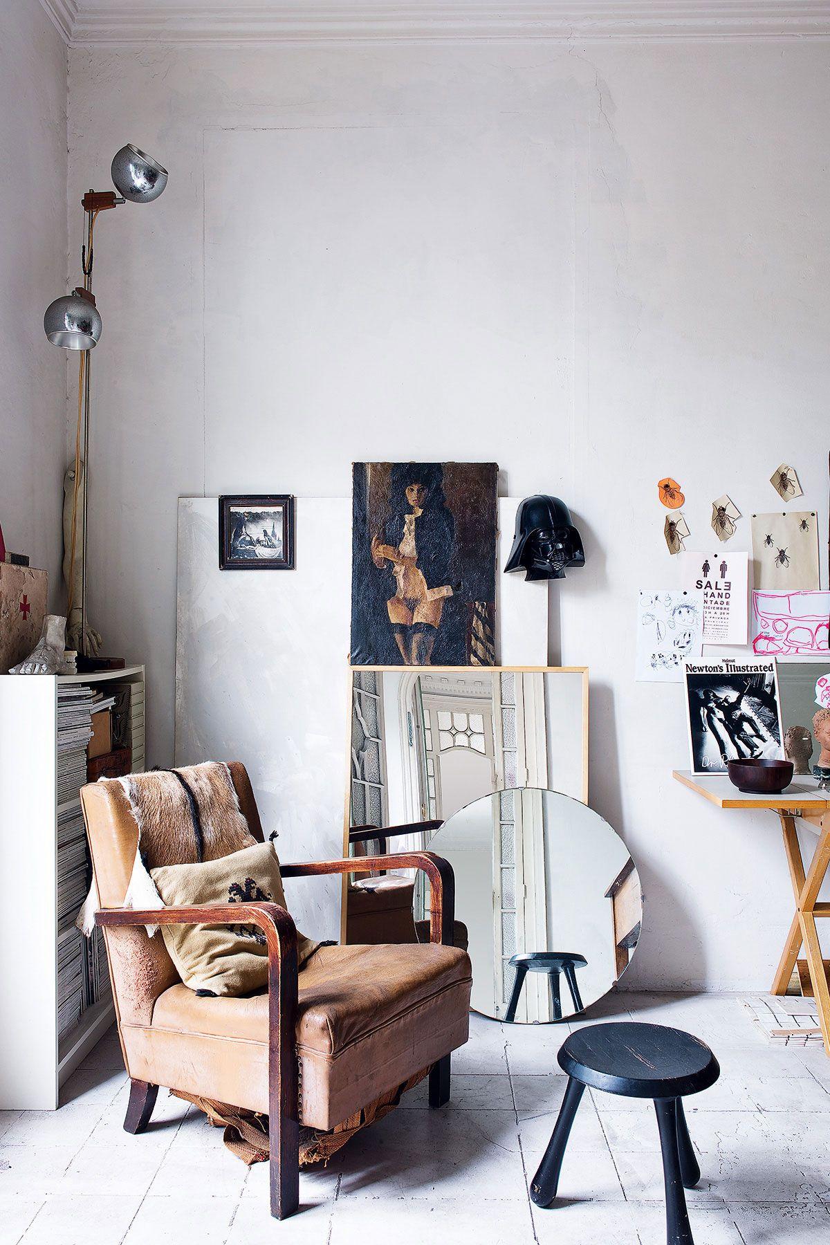 vintage home furnishing inspiration via architectural digest españa ...