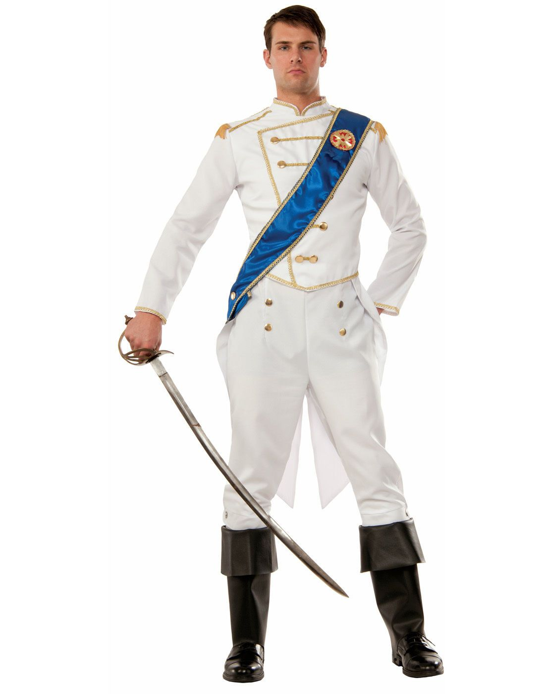 85d7cb616c Fairytale Storybook Cinderella Prince Charming Adult Male Costume Std