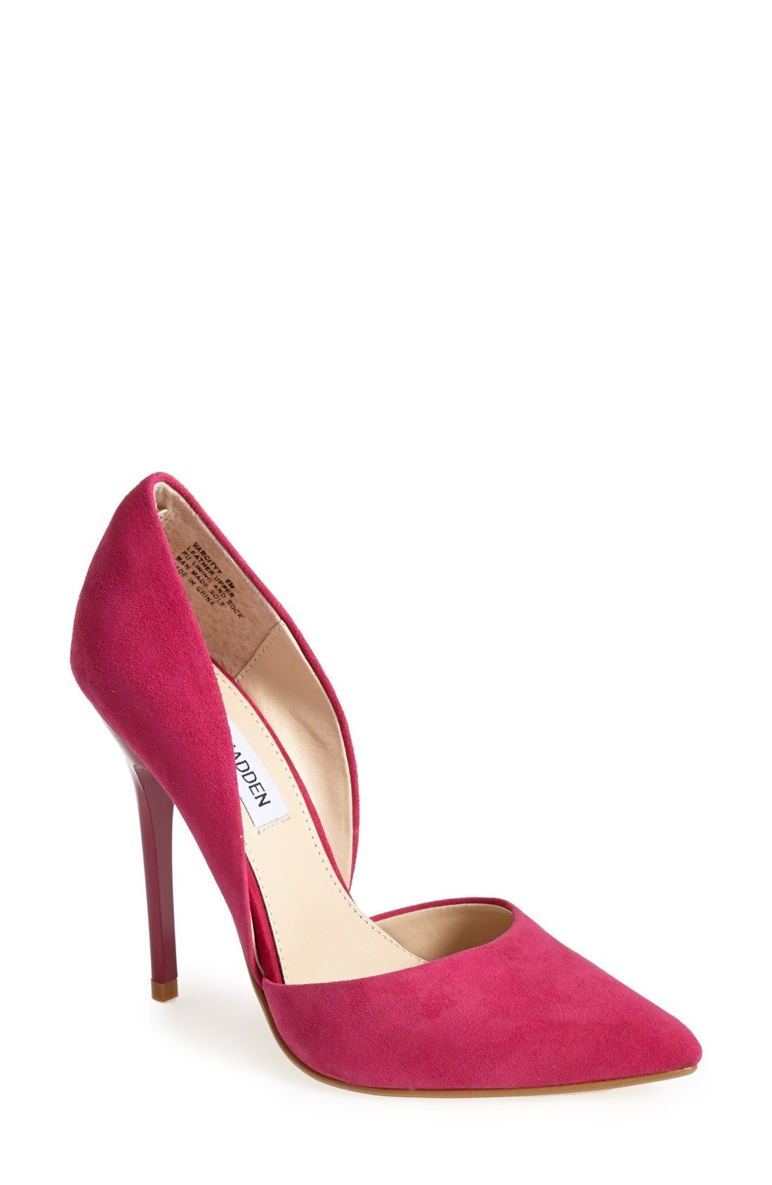 2dd1b55237f These pink Steve Madden pumps are perfect for a ladies night out ...