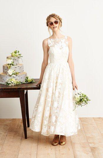 Hayley Paige Tea Length Dress Accessories Ankle Length Wedding