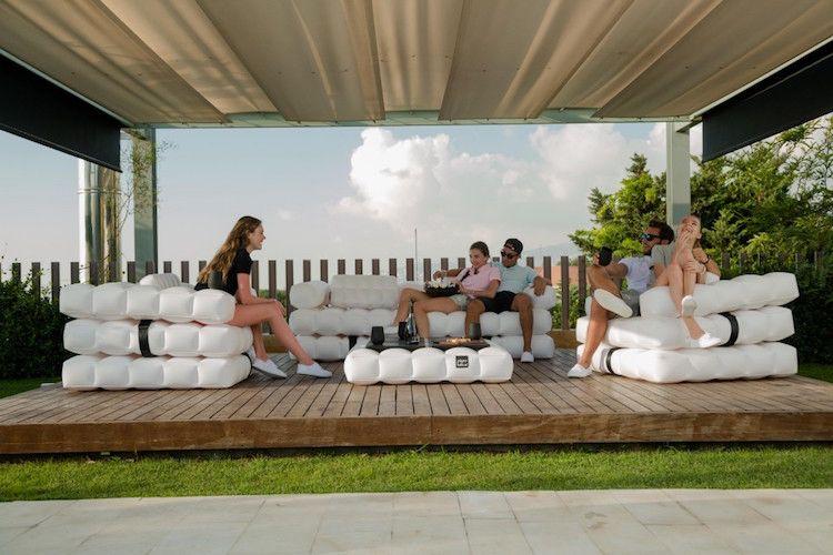 Stilvolle, Moderne Aufblasbare Module An Der Terrasse | Outdoor,  Gartengerate Ideen