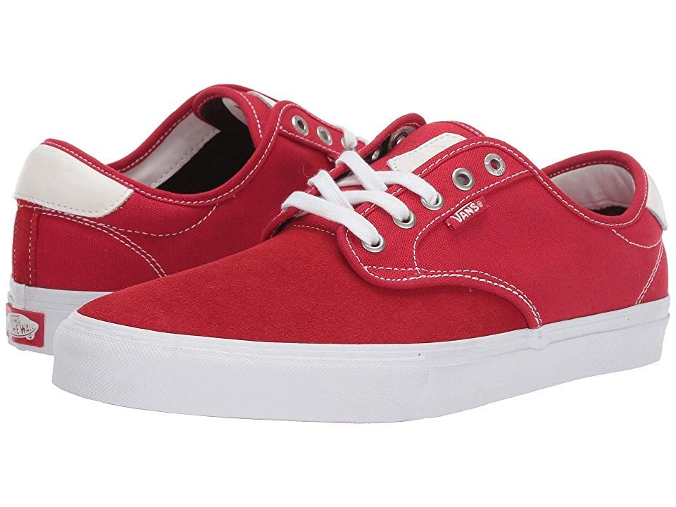 Vans Chima Ferguson Pro Skate Shoes Racing RedTrue White