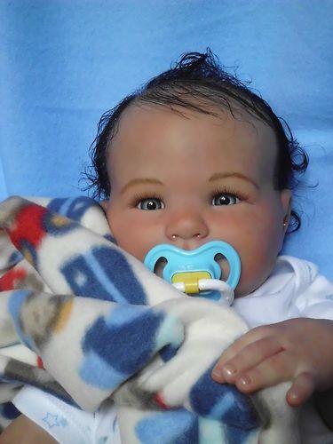 Reborn Baby Boy , Eliza by Donna Rubert ,MR, Genesis.   eBay