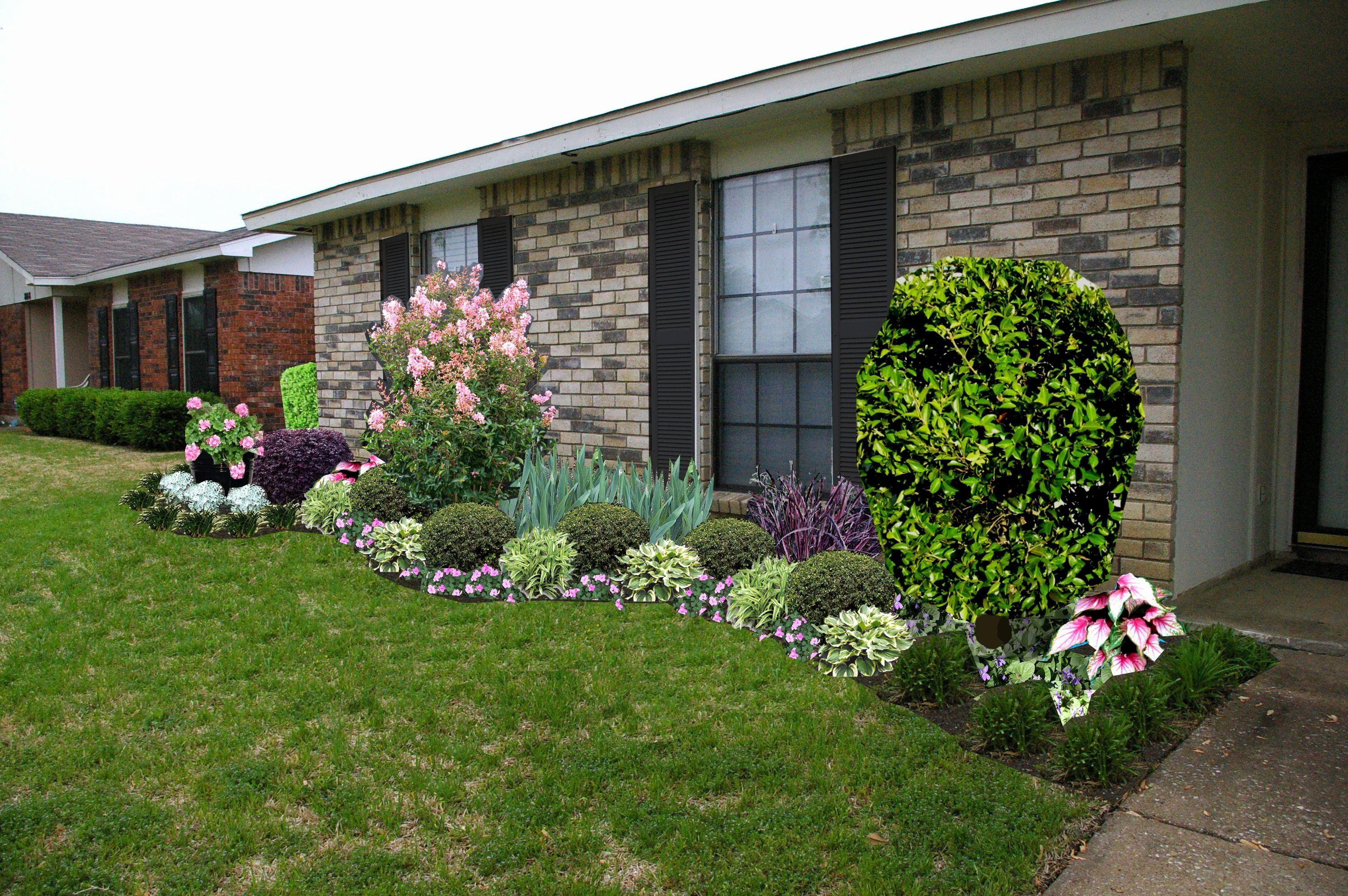 Landscape Ideas Ranch Homes Unique Landscaping Ideas For Front Yard