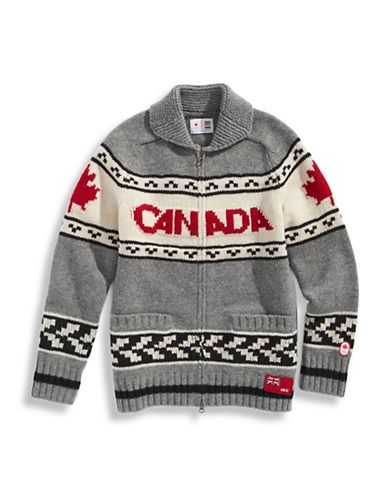 Olympic Collection   Women's Fair Isle Lambswool Zip Sweater ...