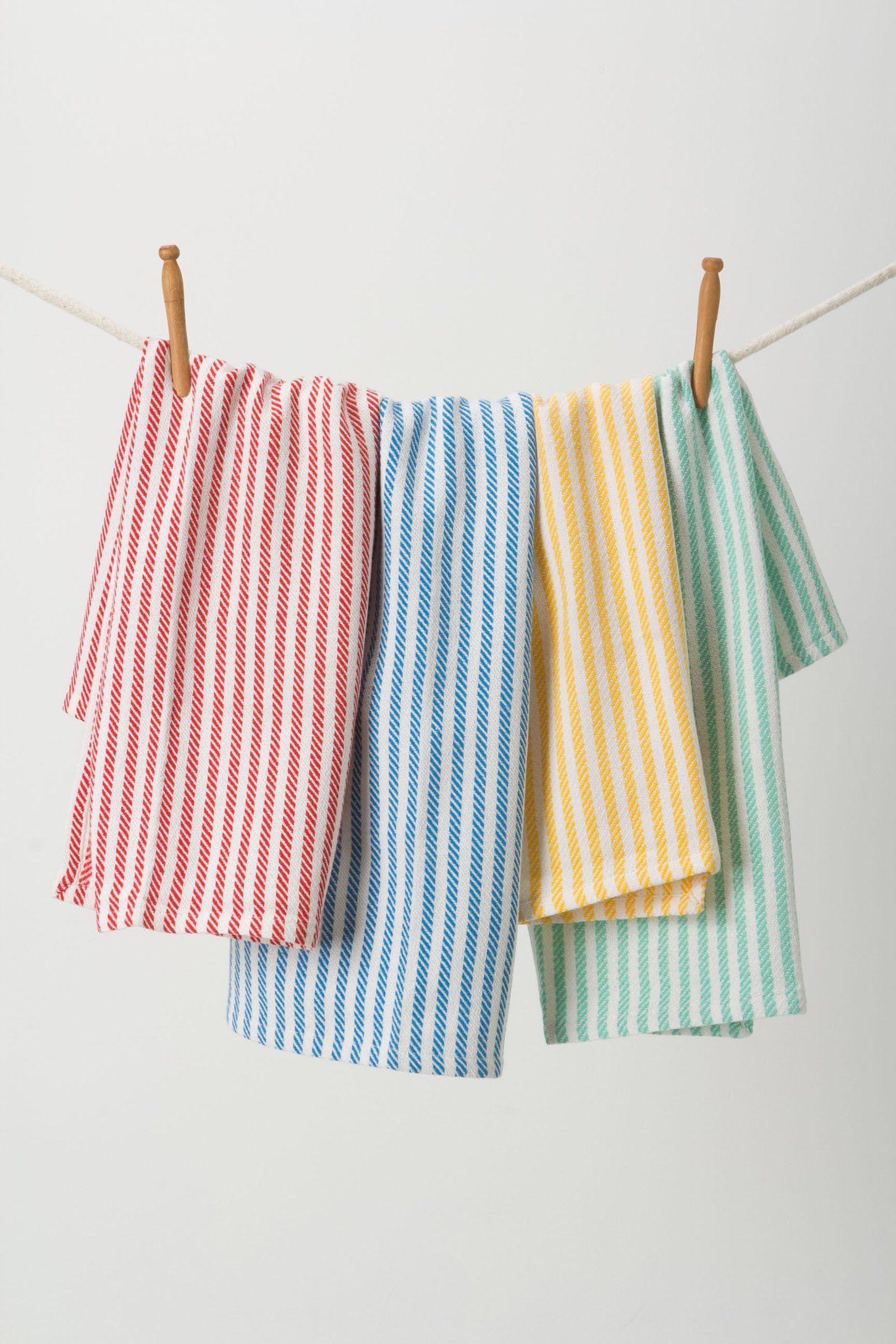 Wash & Dry Tea Towels - Anthropologie.com | bohemian | Pinterest ...