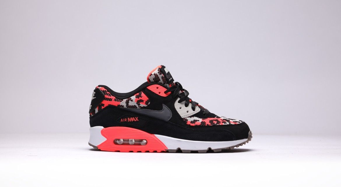 Chaussures Nike Air Max 90 Wmns Rouge Dimpression