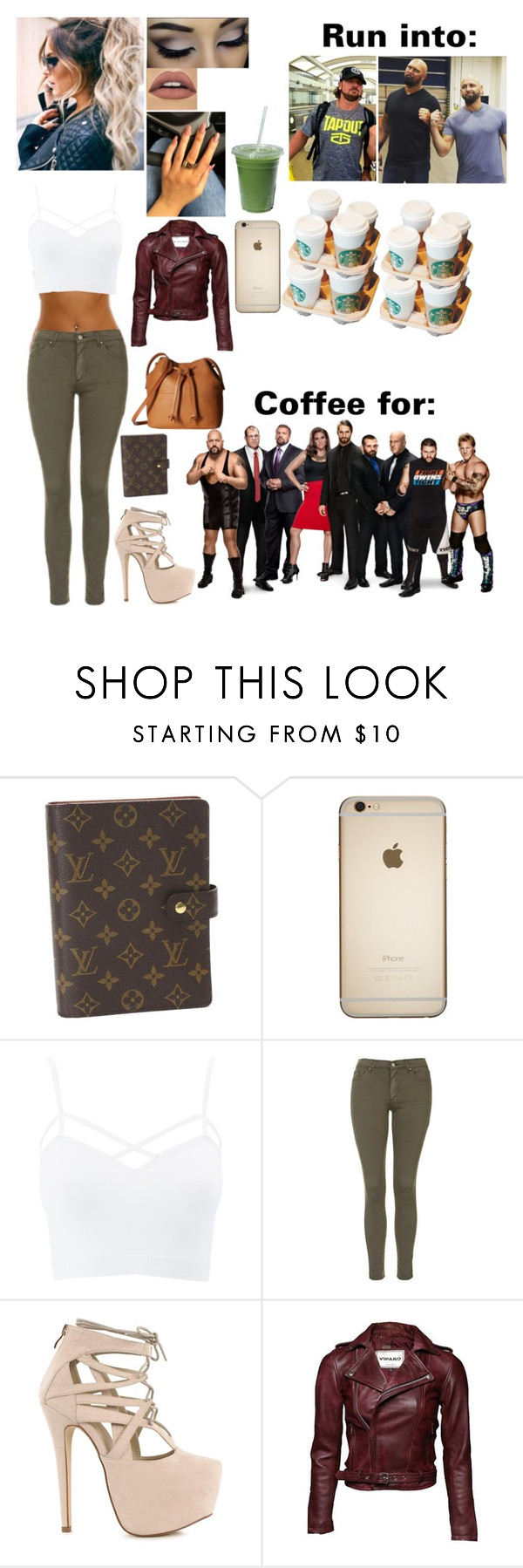 """Coffee run for the Authority and a interesting encounter with the Club for Kaitlyn"" by kaitlyngilmore ❤ liked on Polyvore featuring Louis Vuitton, Charlotte Russe, Topshop, Nly Shoes, ECCO, Kane and plus size clothing"