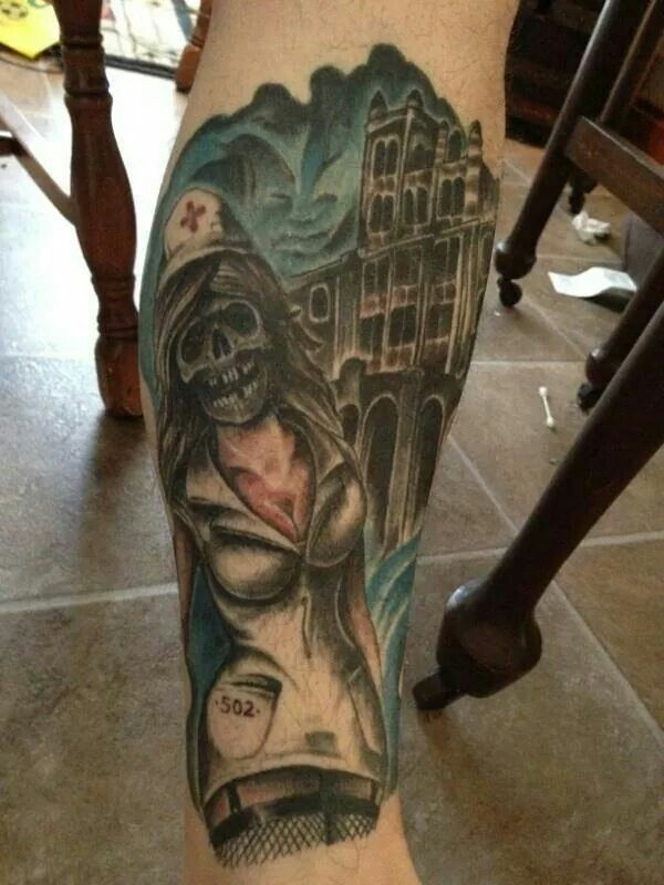 Waverly hills | Tattoo ideas | Tattoos, Portrait