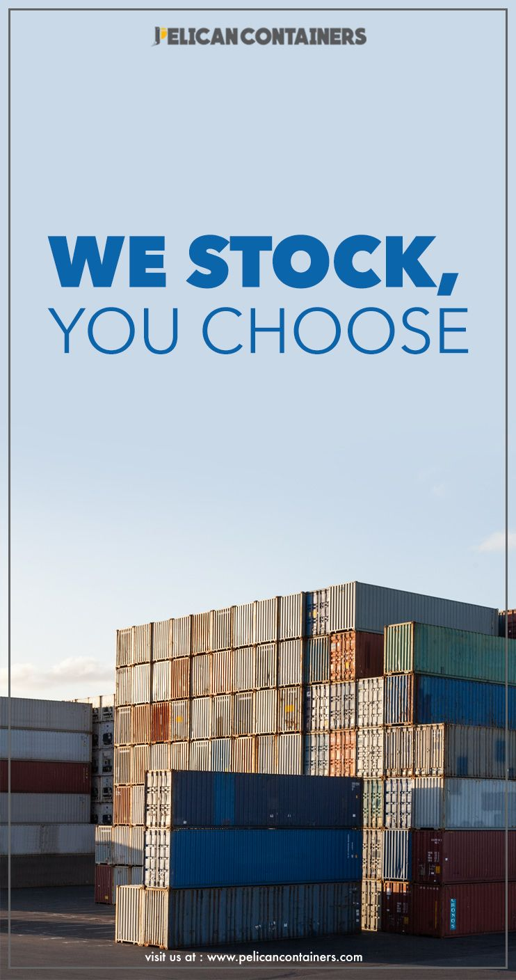 Our Fully Stocked Yards Allow You To Choose From A Wide Variety Of Container Inventor Containers For Sale Used Shipping Containers Shipping Containers For Sale