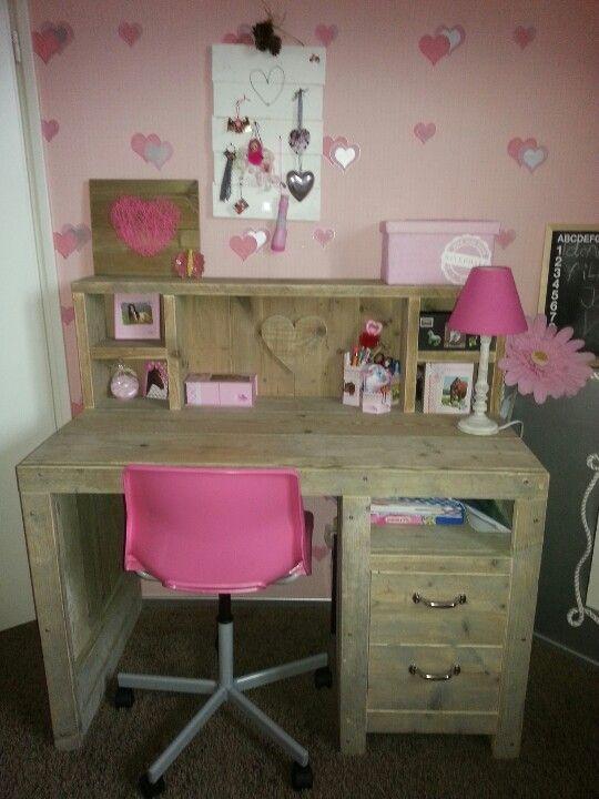 steigerhout slaapkamer meisje - Google zoeken | kamer laura ...