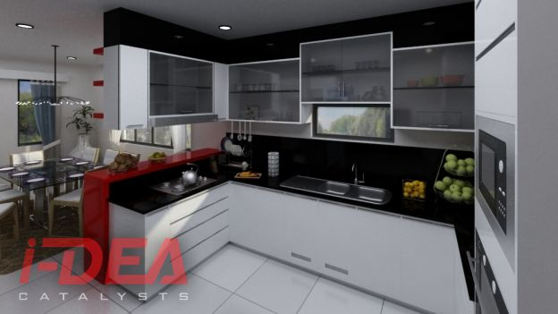 Alum Kitchen 2. We designed and installed this modular ...