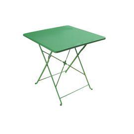 Table De Jardin En Metal Saba 70 X 70 Cm Radium Table De Jardin Fauteuil Jardin Table